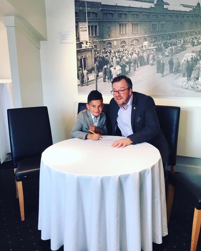 Mason Degorski Signing